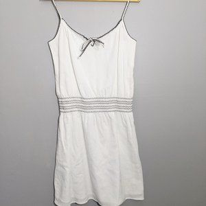 Ann Taylor Loft White Sun Dress| Size Small